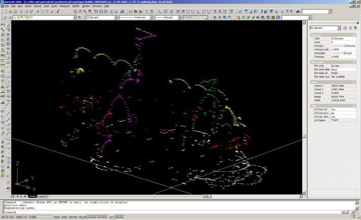 3D-meetpunten total station