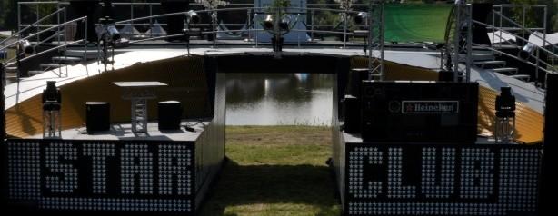 inmeten evenementen - Robbie Williams Podium