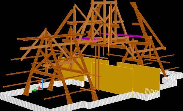 Digitaal inmeten 3D scannen kap conservatorium hotel Amsterdam