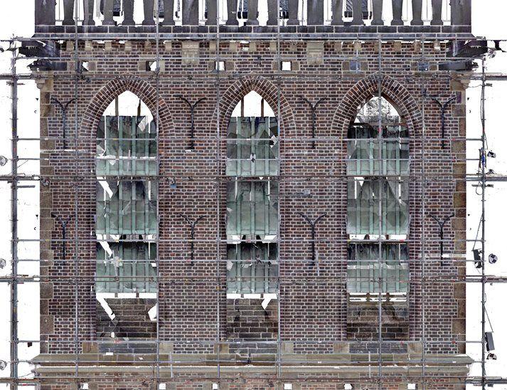 Orthofoto van de Stevenskerk te Nijmegen