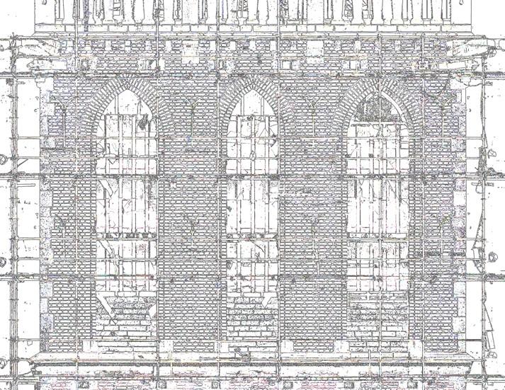 Aanzichttekening Stevenskerk Nijmegen