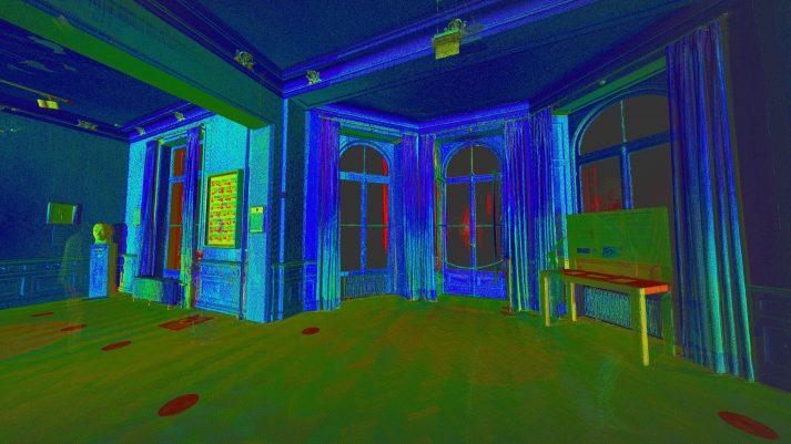 detail scan binnenzijde Airborne Museum