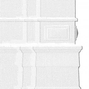 3D scan detail Watertoren.