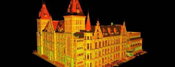 3D inmeten gebouwen