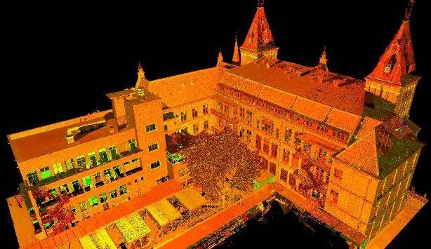 3D scan Ooglijdersgasthuis Utrecht