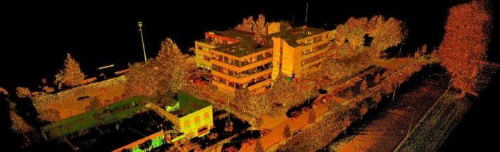 3D scan terrein en gevels