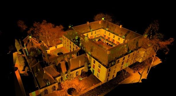Laserscan van Fraterhuis St Denis Tilburg