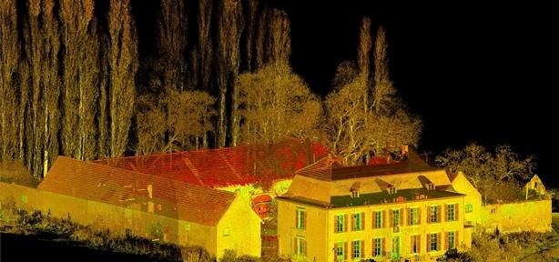 3D laserscannen Nieuw-Erenstein