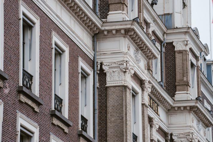Amstel Hotel ornament gevel