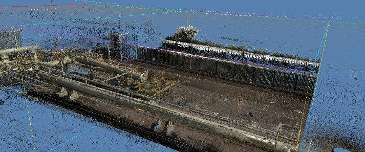 3D scan bestaand leidingwerk industry plant