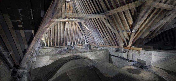 Laserscan Grote kerk / Sint Laurenskerk Alkmaar