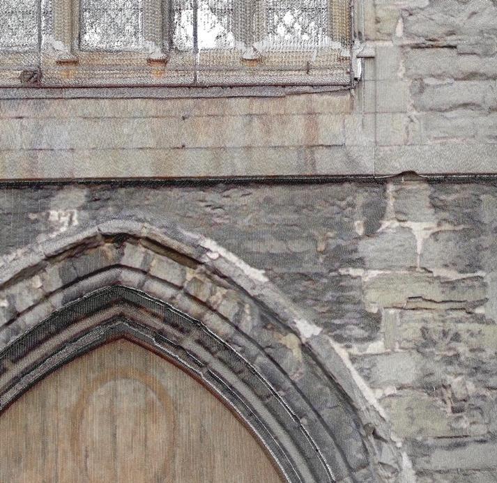 Voorbeeld orthofoto kerk-Belgie-detail-713