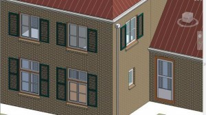 Detail Revit model LOD300