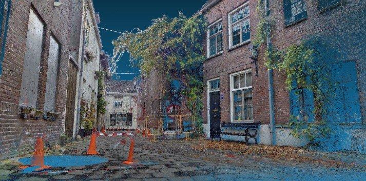 Proactief 3D scannen Walpoort Den Bosch