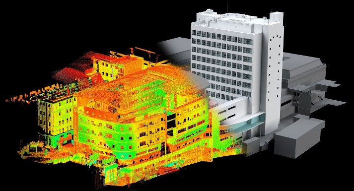 3D model in pointcloud
