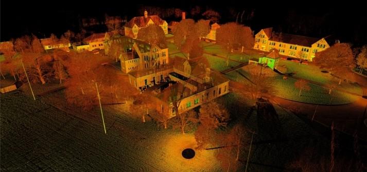 3Dscan 3D inmeten gebouwen Isabella kazerne Vught