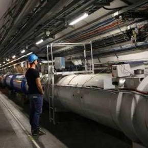 Gehuurde 3D laserscanner LHC CERN