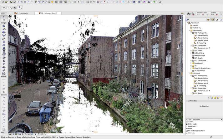 Archicad_pointclouds