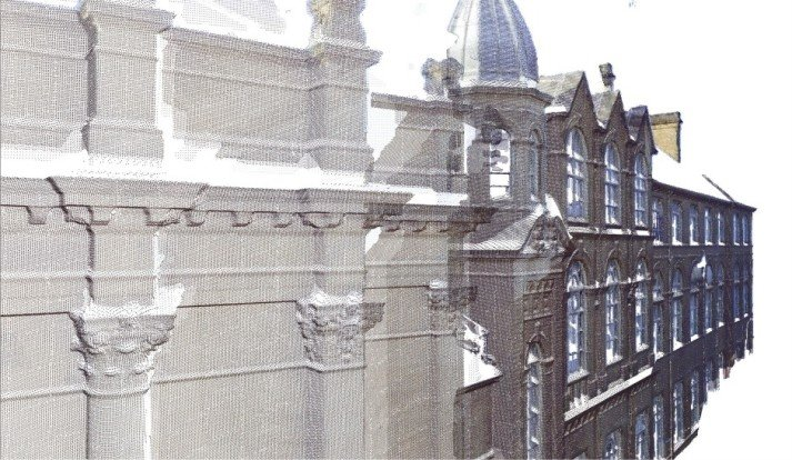 Point cloud in ArchiCAD - detail