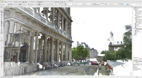 Point cloud in Archicad