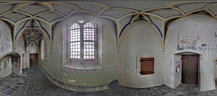 Kerken inmeten - foto 3D laserscan data