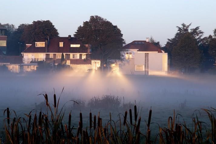 Jan van Hoof Galerie in de mist