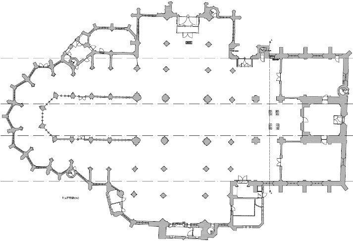 Kloosters en kerken inmeten