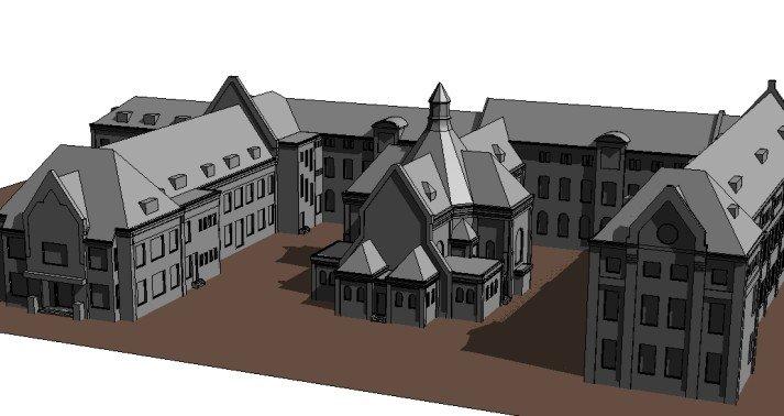 3Dmodel_klooster_eindhoven