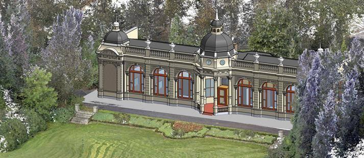 3D model voor restauratie