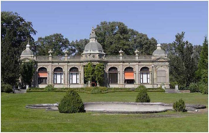Oranjerie in Hydepark