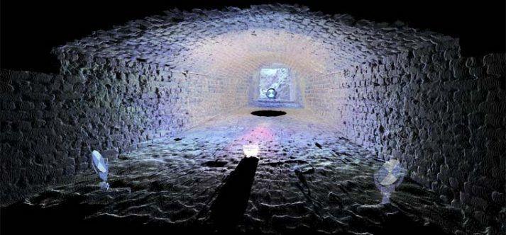 Laserscan archeologisch onderzoek schietkoker Philips van Kleef bolwerck