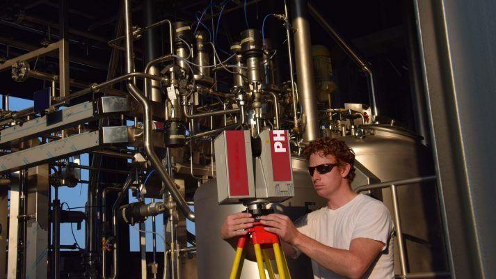3D laser scanning industrie
