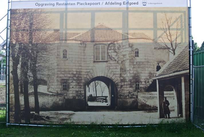 Opgraving-restanten-Pieckepoort-Den-Bosch-afdeling-erfgoed