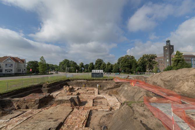 Elke steen werd tijdens de opgraving van de Pieckepoort maataccuraat vastgelegd met een 3D laserscanner.