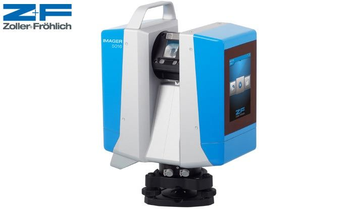 Z+F 5016 3D laserscanner touch screen