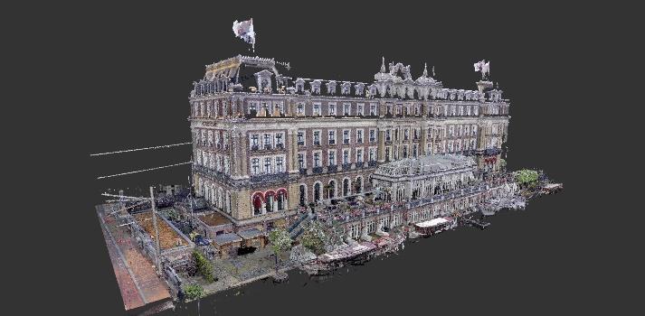 3D laserscan Amstelhotel