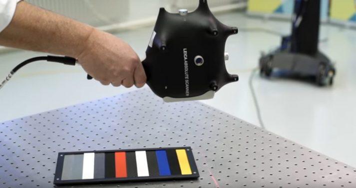 Nauwkeurige handscanner hoge resolutie