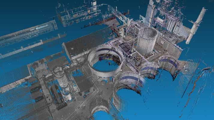 3D scannen petrochemie