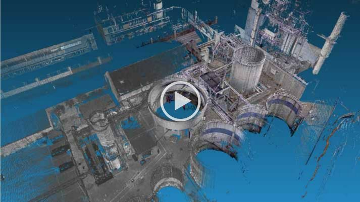 Screenshot instructievideo 3D scan petrochemie