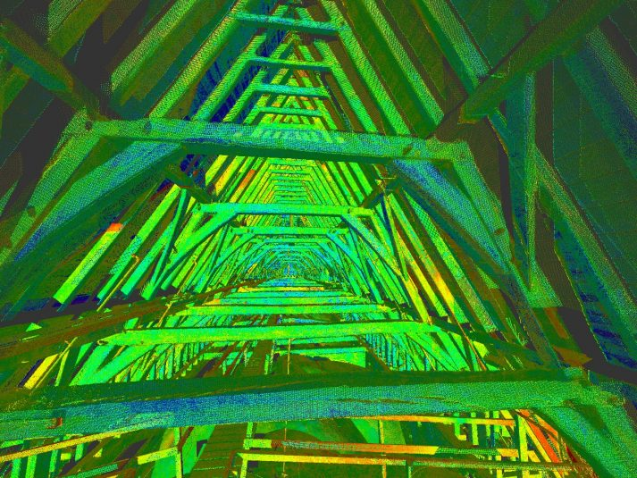dakconstructies scannen kerk kappen tekenen