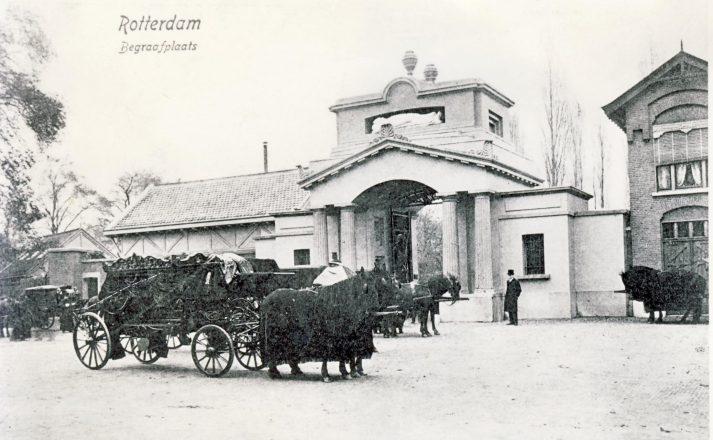 Historische foto begraafplaats Crooswijk