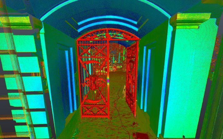 pointcloud 3d laserscanner leica hds 7000