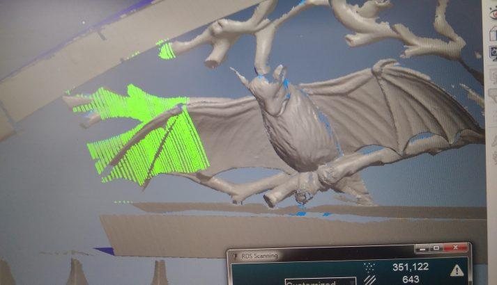 screenshot live beeld precisie handscanner