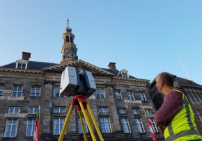 3D scan gevel stadhuis