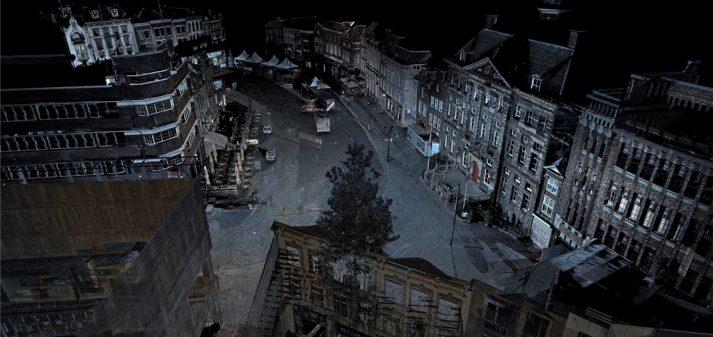 Pointcloud binnenstad Den Bosch