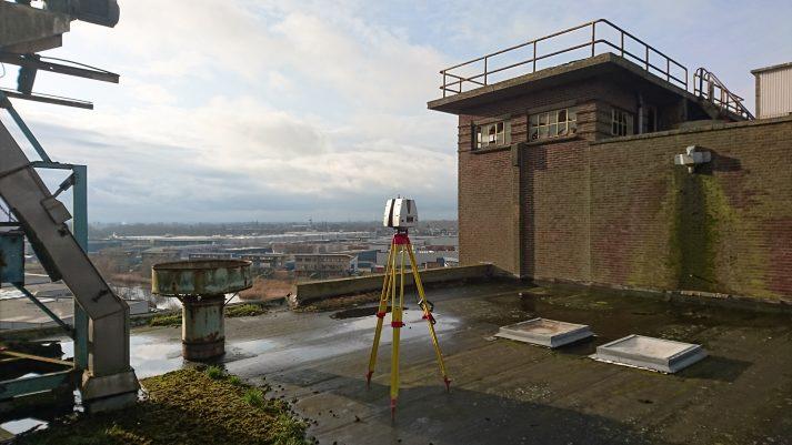 High-end 3D scanning op dak Brokking Wormerveer