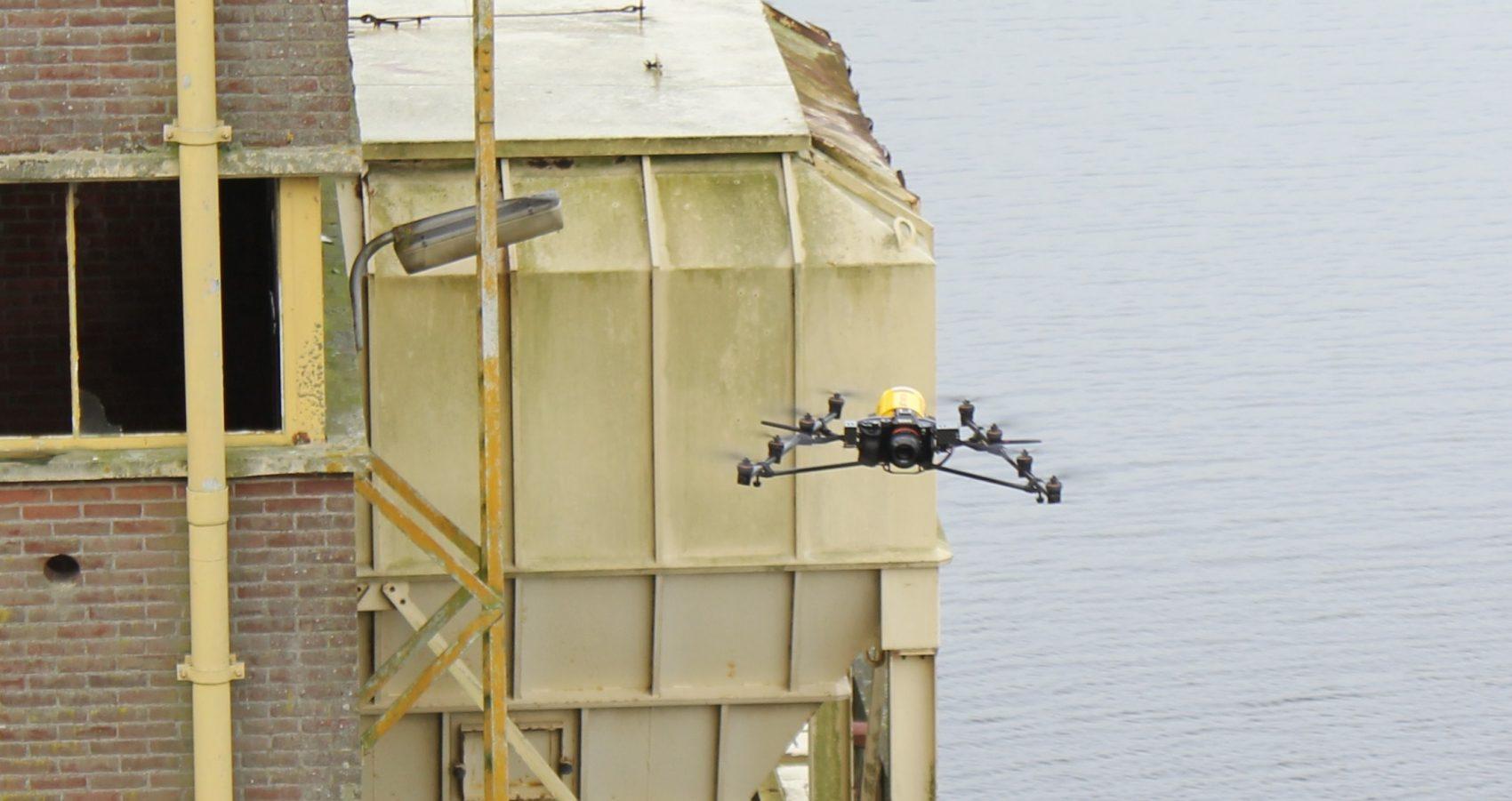 Fotogrammetrie metingen met drones