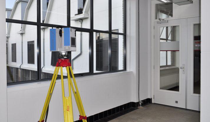 High-end laserscanners geschikt voor nauwkeurige vloeranalyse metingen