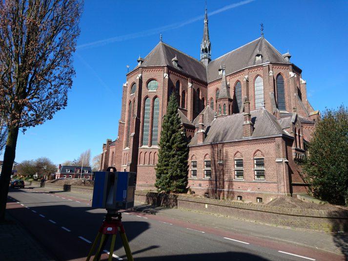 3D scan Heilig Hart kerk