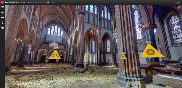 3D scan kerk Boxtel
